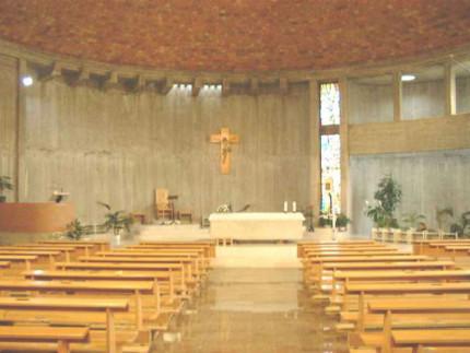 La chiesa di S.Giuseppe Lavoratore alla Cesanella di Senigallia