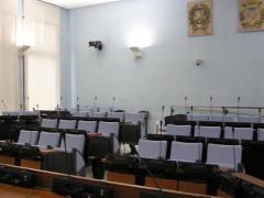 Sala del Consiglio comunale di Pesaro