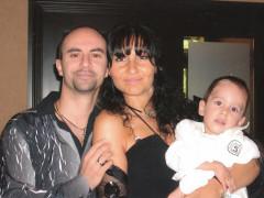 Sergio, Emily e Christian Cialona