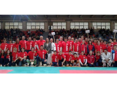 Atleti di judo a Senigallia