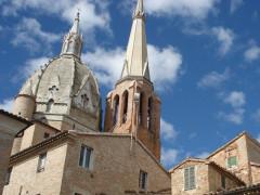 Ostra Vetere, veduta della Chiesa di Santa Maria di Piazza