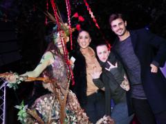 Stamira D'Amico con Cecilia Rodriguez e Francesco Monte