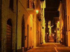 Corso Mazzini a Ostra