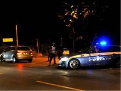 Controlli notturni della Polizia