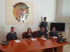 Conferenza stampa della Guardia di Finanza di Ancona