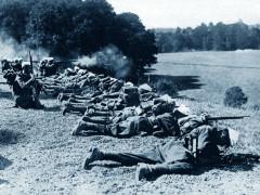 Combattimenti durante la prima Guerra mondiale