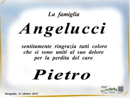 Ringraziamenti famiglia Angelucci