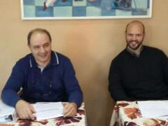 Giorgio Sartini ed Egidio Cardinale