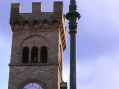 La torre civica di Castelleone di Suasa