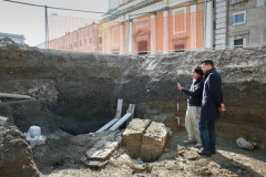 Archeologia in Piazza Garibaldi