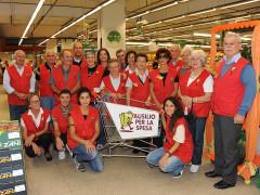 I volontari del servizio 'Ausilio spesa' a Senigallia