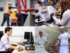 lavoro, occupazione, industria, terziario
