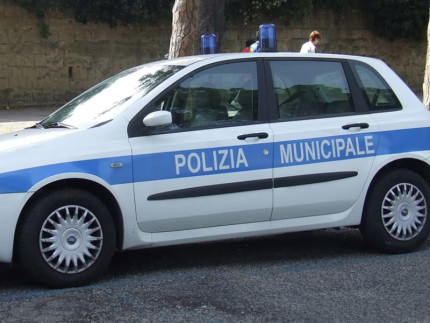 Autovettura della Polizia Municipale