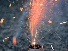 fuochi d'artificio, botti, Capodanno