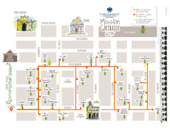 La mappa del progetto 'Mission Garibaldi' 2015 a Senigallia