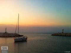 'Rientro al tramonto' di Andrea Derogati