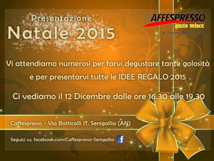 Caffespresso - Natale 2015