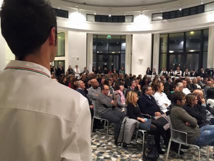 Presentazione libro Marche Chef: il pubblico