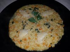 ricetta del risotto alla zucca