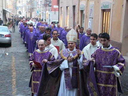 Giubileo a Senigallia, apertura Porta Santa
