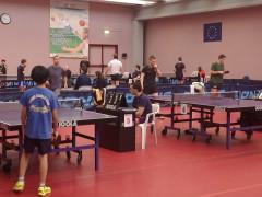 Il torneo di ping pong al Centro Olimpico Tennistavolo di Senigallia