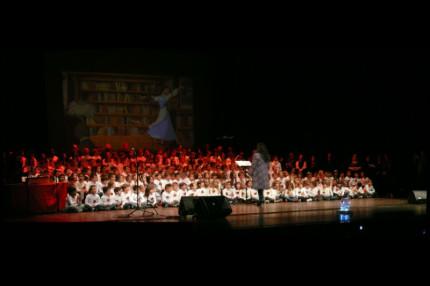 Il concerto degli alunni della scuola Pascoli al teatro La Fenice di Senigallia