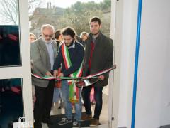 Inaugurazione nuove stanze scuola Crocioni di Ostra