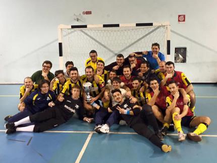 Calcio a 5 Serie D: l'A.S.D. Ciarnin di Senigallia vince la Coppa Marche