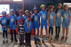Gli atleti del Team Roller alle gare di Imola