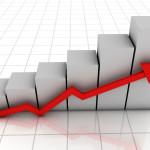 Crescita, grafico, statistiche, dati