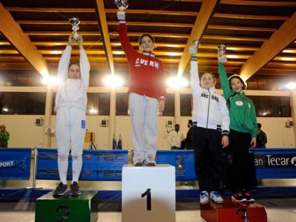 Scherma: medaglia di bronzo per Giada Romagnoli conquistata a Roma