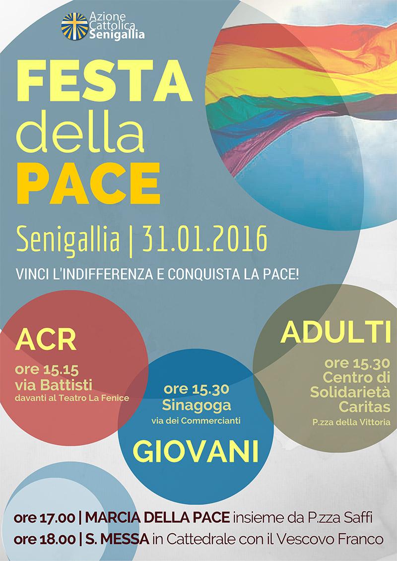 Festa della Pace 2016 - Azione Cattolica Senigallia - locandina