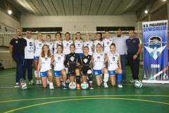 La squadra femminile dell'US Pallavolo Senigallia, stagione 2015-16