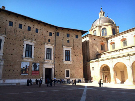 La galleria nazionale delle Marche ad Urbino, presso il palazzo ducale