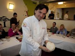 Il maestro panettiere Giuliano Pediconi