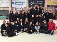 La Polisportiva Senigallia alla prima prova regionale di ginnastica del 2016 svoltasi al palazzetto dello sport di via Capanna