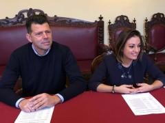 Al via le attività della Consulta dei Giovani, presentato il programma per il 2016 da Maurizio Mangialardi (sx) e Francesca Berardi (dx)