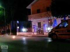 Polizia Municipale lungo lo Stradone Misa