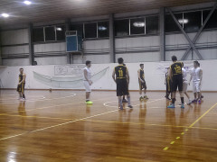 Un momento del match tra Roosters Senigallia e Adriatico Ancona