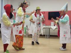 Festa di carnevale alla residenza per anziani Stella Maris di Senigallia