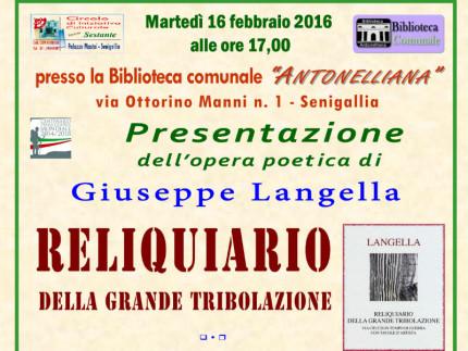 Incontro con Giuseppe Langella