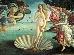 """""""La nascita di Venere"""" di Botticelli"""