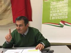 Il presidente ANPI Senigallia Leonardo Giacomini