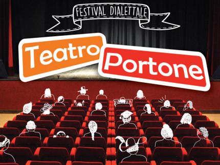 La locandina del festival dialettale al teatro Portone di Senigallia