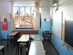 Scuola Sant'Angelo di Senigallia - Aula con LIM