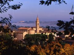 Panorama di Castelleone di Suasa