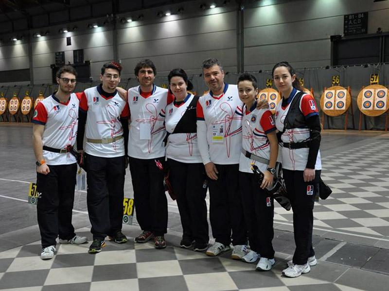 Gli arcieri della compagnia ASSTA Senigallia ai campionati di Rimini