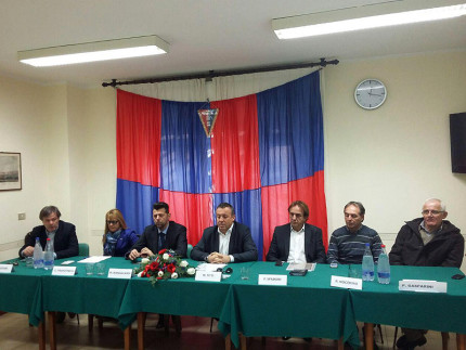 Presentazione della nuova dirigenza della Vigor Senigallia e degli accordi per il settore giovanile