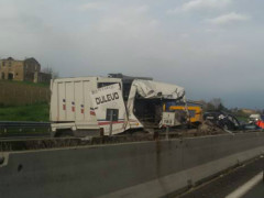Incidente a Marotta sull'A14