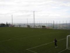 Il campo sportivo a Montecarotto